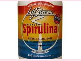 Organic Spirulina Tablets 100 tabs
